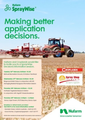 Spraywise Information Session