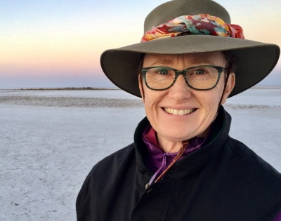 Liza Dale Hallett At Lake Eyre South
