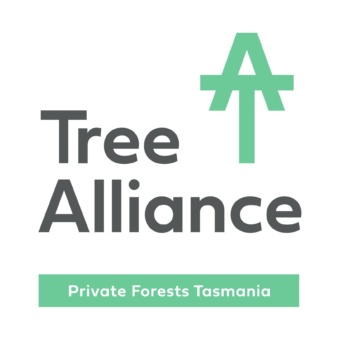Tree Alliance Logo with PFT Comm Strip Portrait Colour